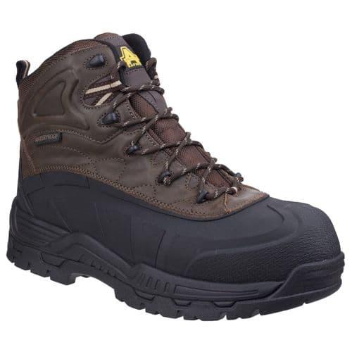 Amblers Safety 430 Orca Waterproof Safety Footwear Brown